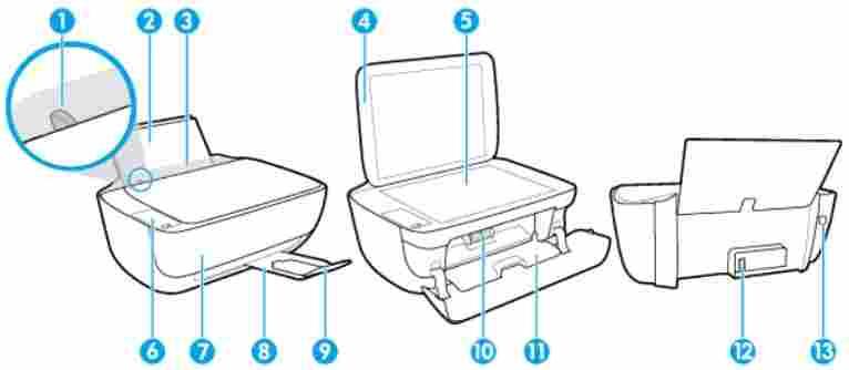 instructions for using a hp deskjet 1110 printer