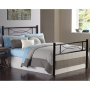 laguna queen platform bed with headboard black woodgrain instructions