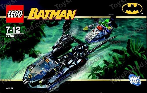 lego batman 7780 instructions