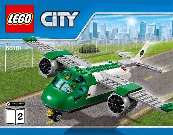 lego city cargo terminal 60022 instructions