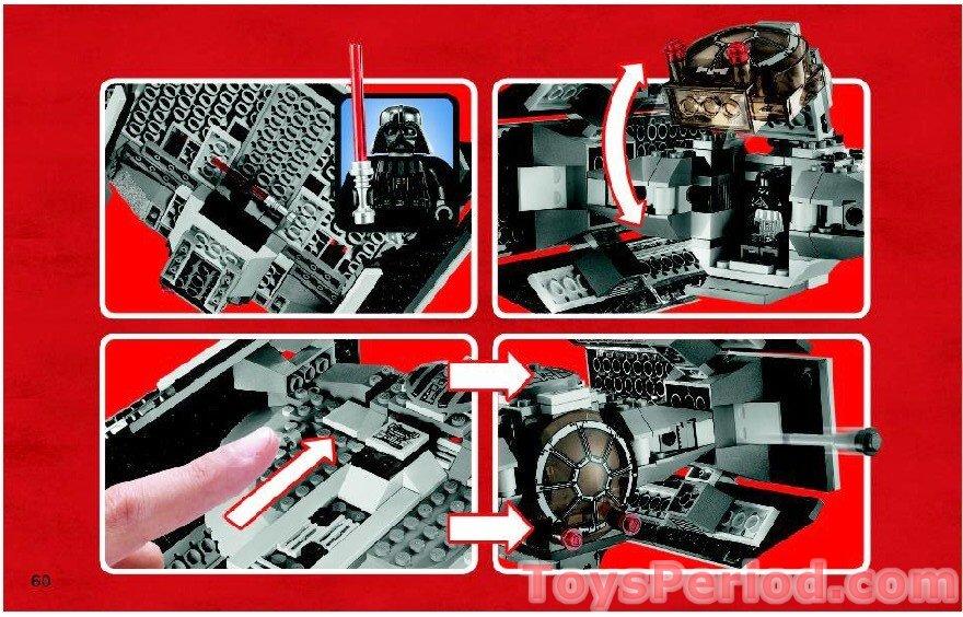 lego darth vader tie fighter 8017 instructions