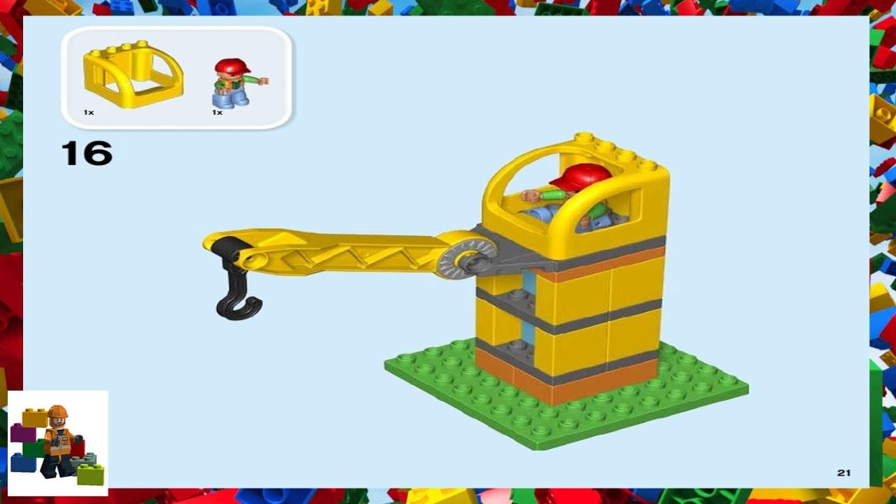 lego duplo big construction site instructions
