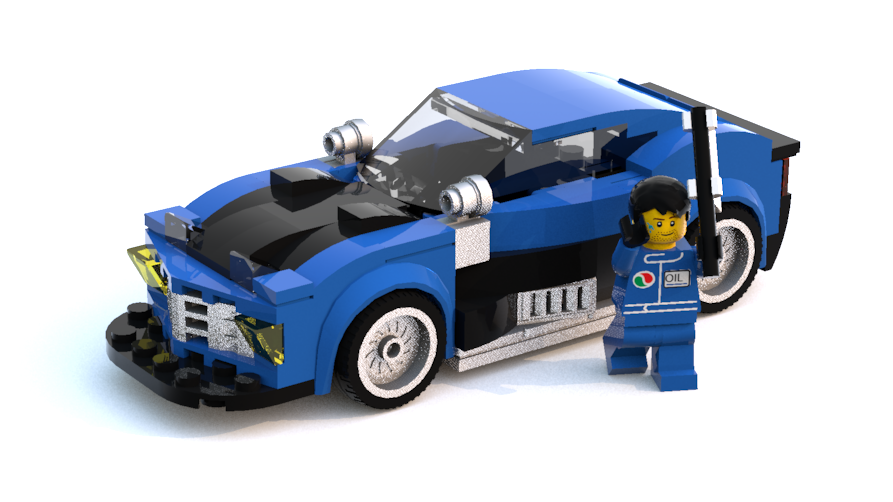 lego ferrari f1 speed champions instructions