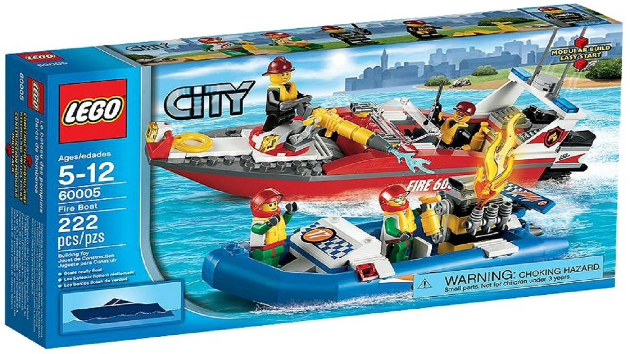 lego fire boat instructions 60005