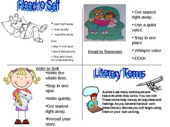 literary devices for instructions