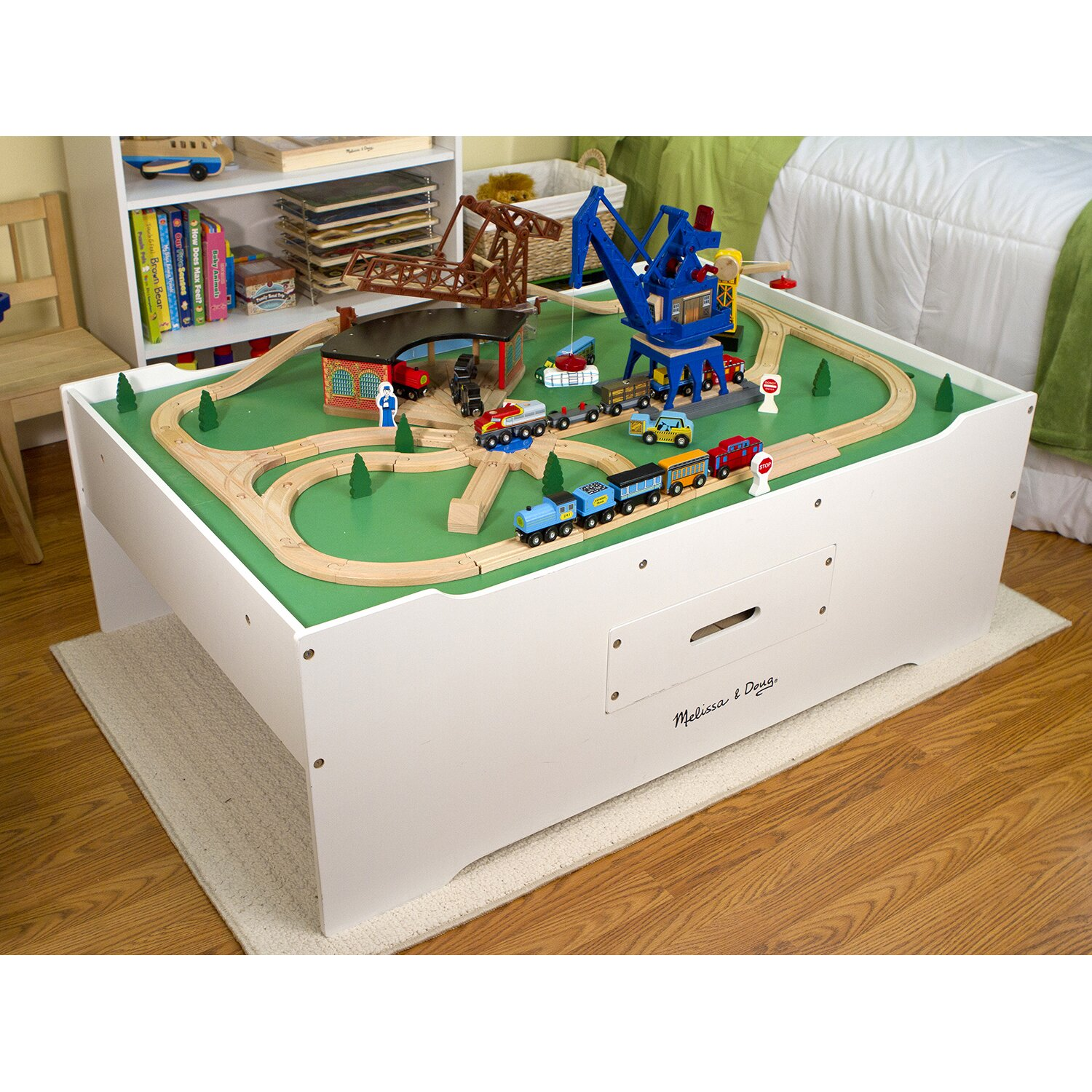 melissa and doug multi activity table instructions