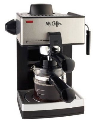 mr coffee cafe barista espresso maker instructions