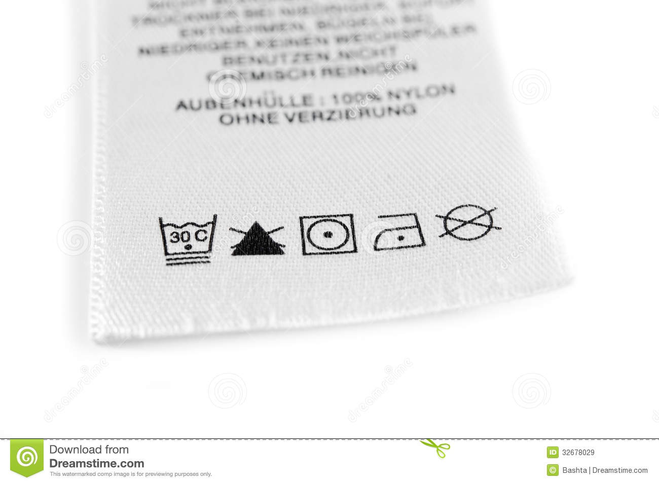 textile washing instructions french
