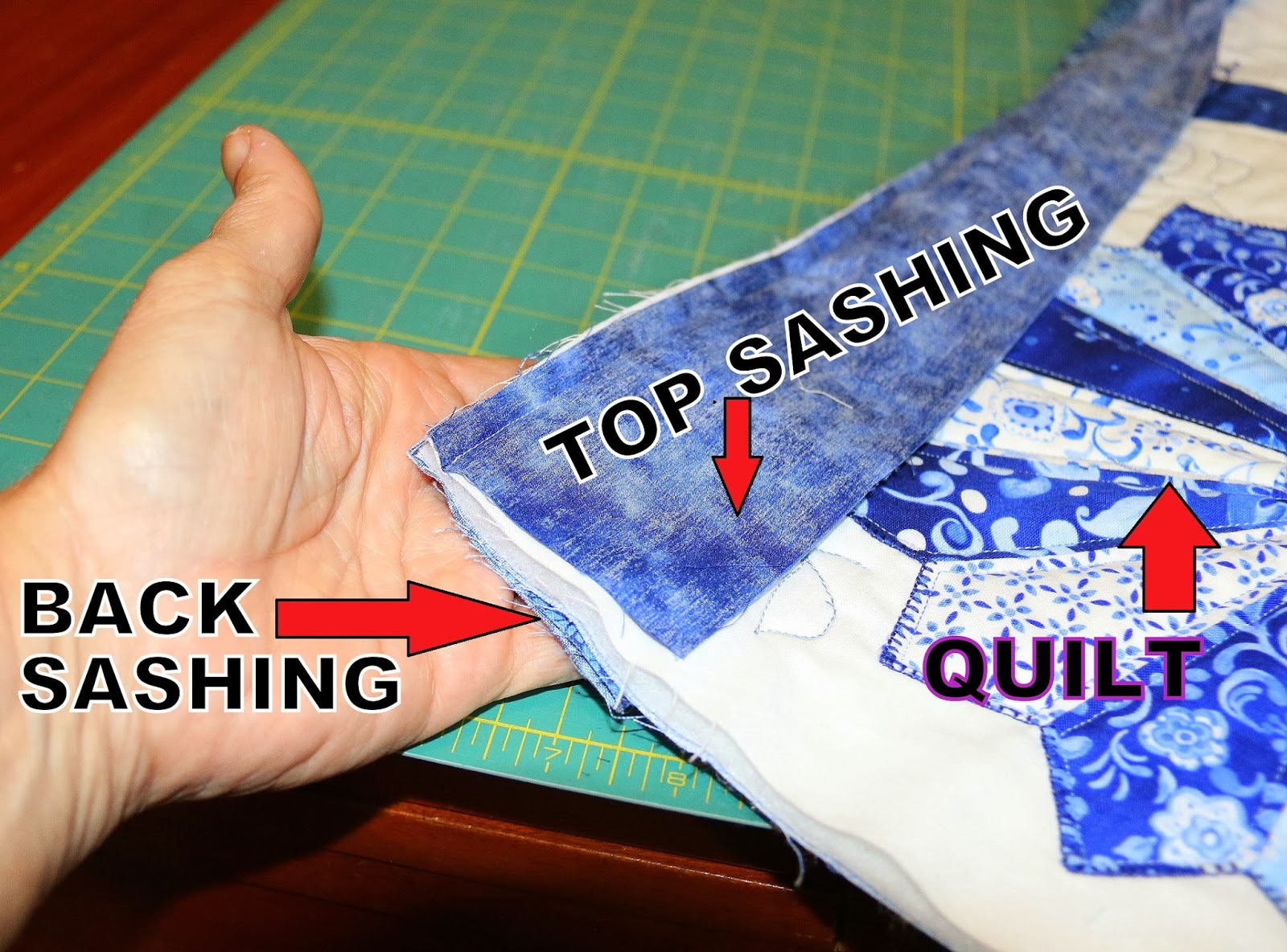 top stitched seam instructions