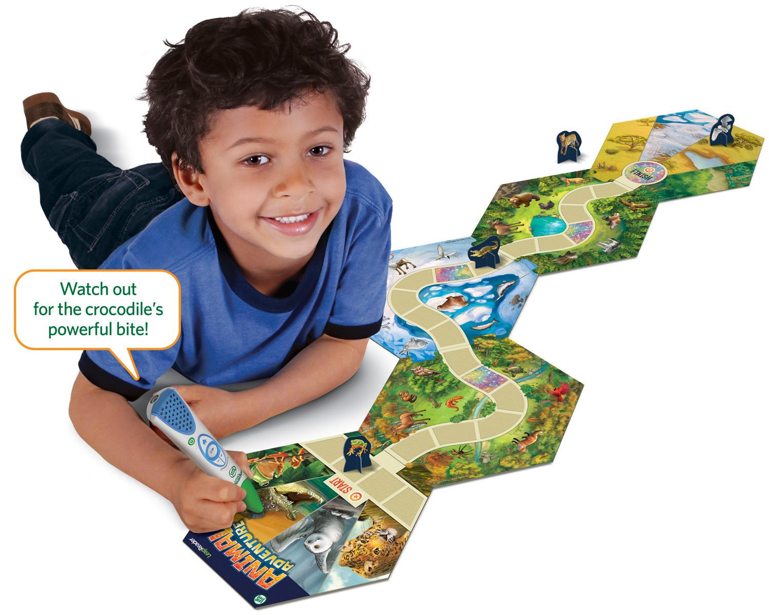 wildlife adventure board game instructions