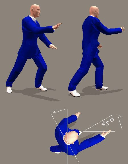 yang style postures instructions